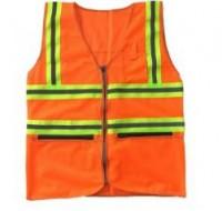 Áo phản quang có túi máu cam